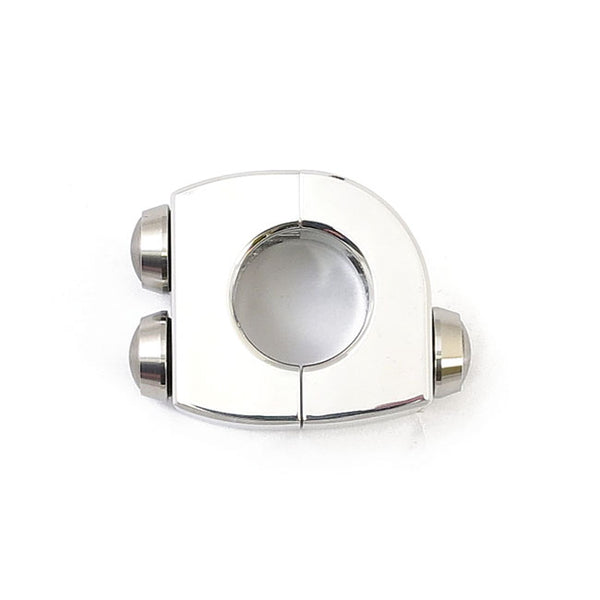 MOTOGADGET M-SWITCH 3 PUSH BUTTON HOUSING - 7/8 INCH - Polished