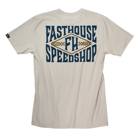 Fasthouse Backside Tee - Sand