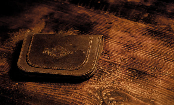 TRI WAXED LEATHER WALLET