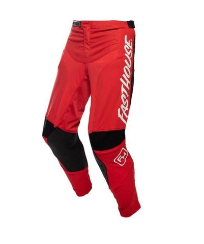 FASTHOUSE PANTS SPEEDSTYLE RAVEN RED BLACK