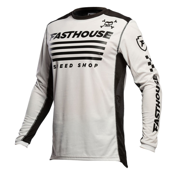 Fasthouse Halt Jersey - White/Black