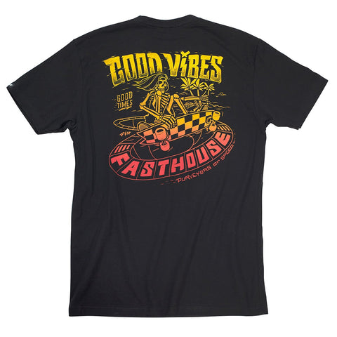 Fasthouse Indy Tee - Black