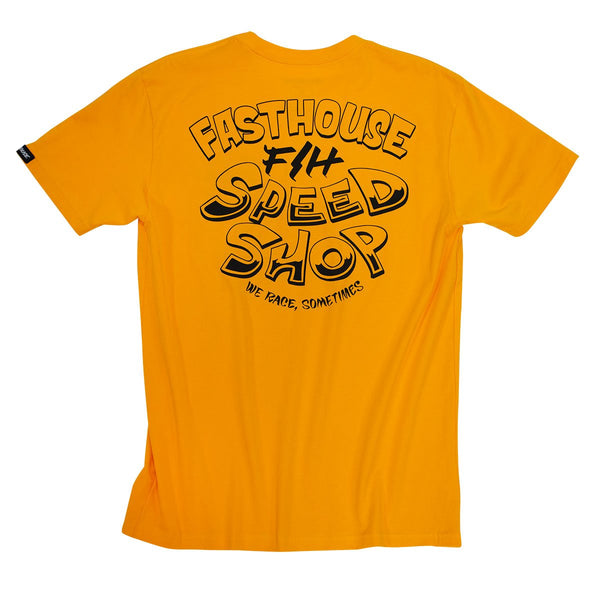 Fasthouse One-Shot Tee - Gold