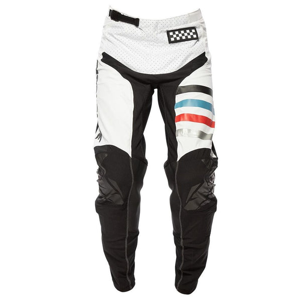 FASTHOUSE PANTS RAVEN 2.0 WHITE/BLACK