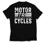 TRI MOTORCYCLES - TEE - BLACK