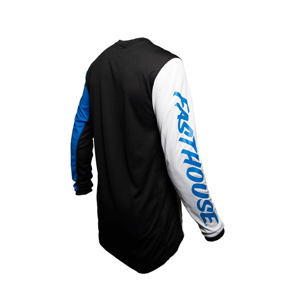 Worx 68 Youth Jersey - White/Blue