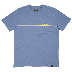BSMC WINGLINE T-SHIRT - BLUE