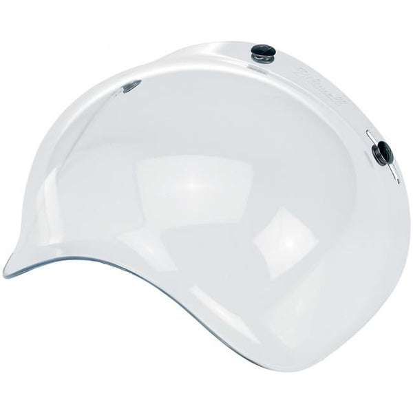 BILTWELL BUBBLE SHIELD - CLEAR
