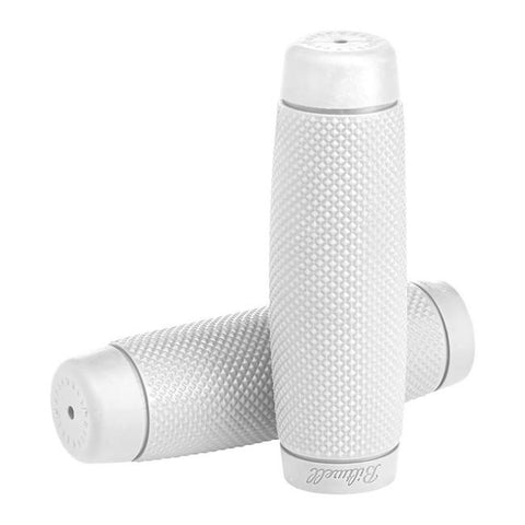 BILTWELL RECOIL GRIPS - WHITE