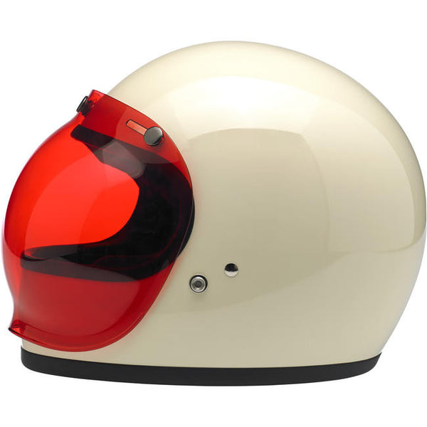 BILTWELL BUBBLE SHIELD - ROSE