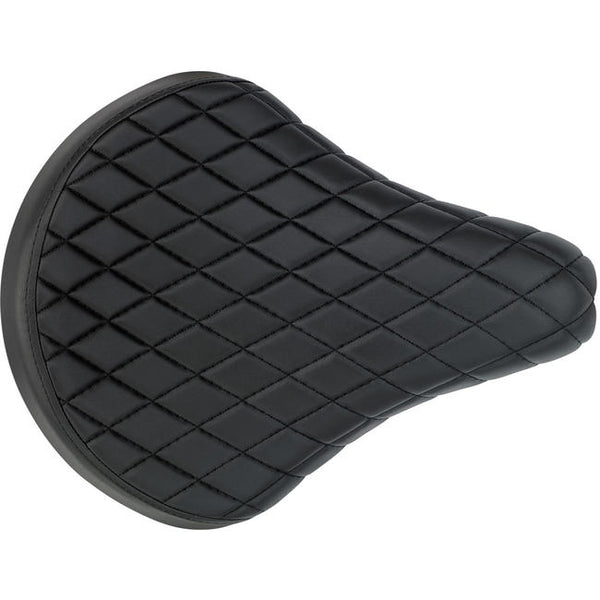 BILTWELL SOLO SEAT - BLACK DIAMOND