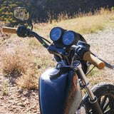 "BILTWELL 1"" TRACKER HIGH HANDLEBAR, CHROME"