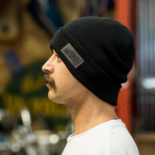 cec8404527741 BILTWELL - BOLTS BEANIE - BLACK – The Real Intellectuals Store