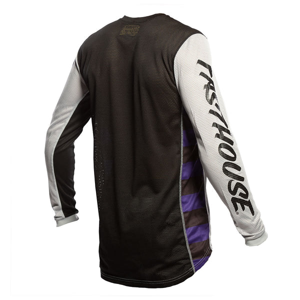 Fasthouse Originals Air Cooled Jersey - Silver/Black