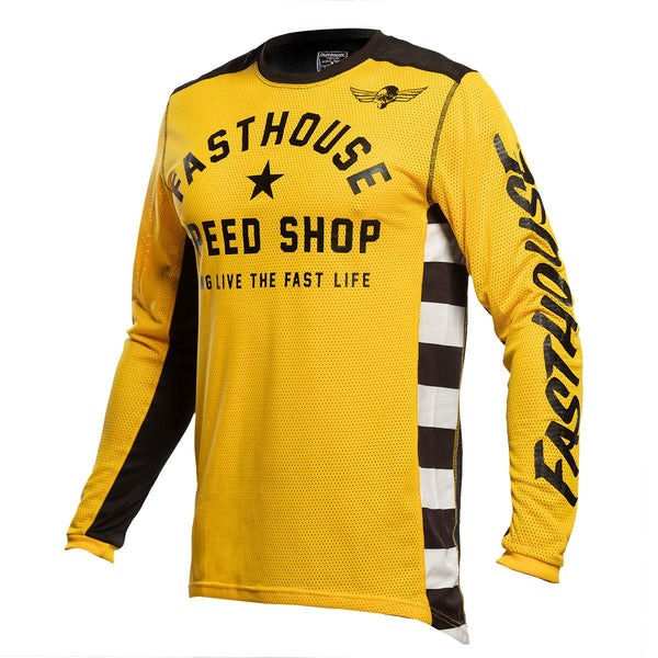 Fasthouse Originals Air Cooled Jersey - Gold/Black
