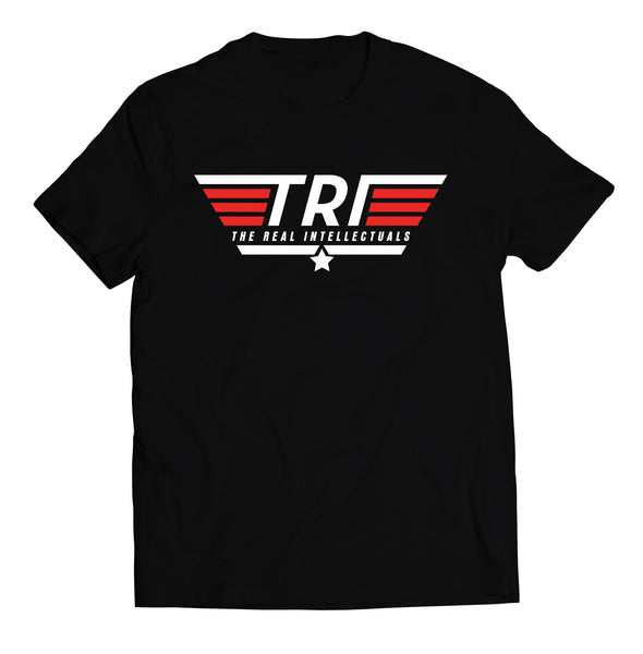 TRI / TOP GUN - BLACK - TEE