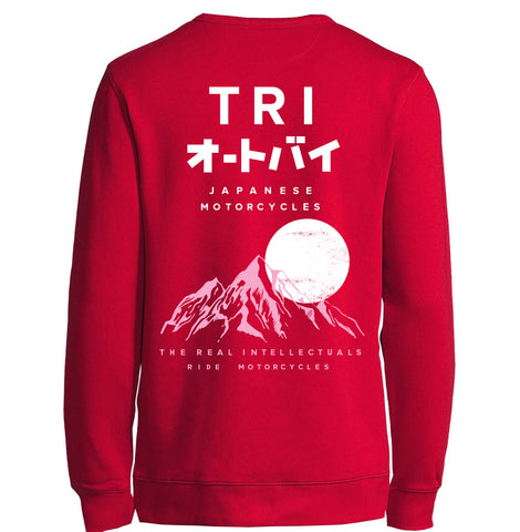 TRI JAPAN - SWEATSHIRT - RED