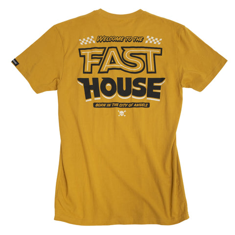 Fasthouse Weekend Tee - Vintage Gold