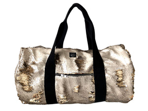 80 Beige Gold Bag
