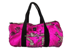 80 Pink Fluo/ silver Bag