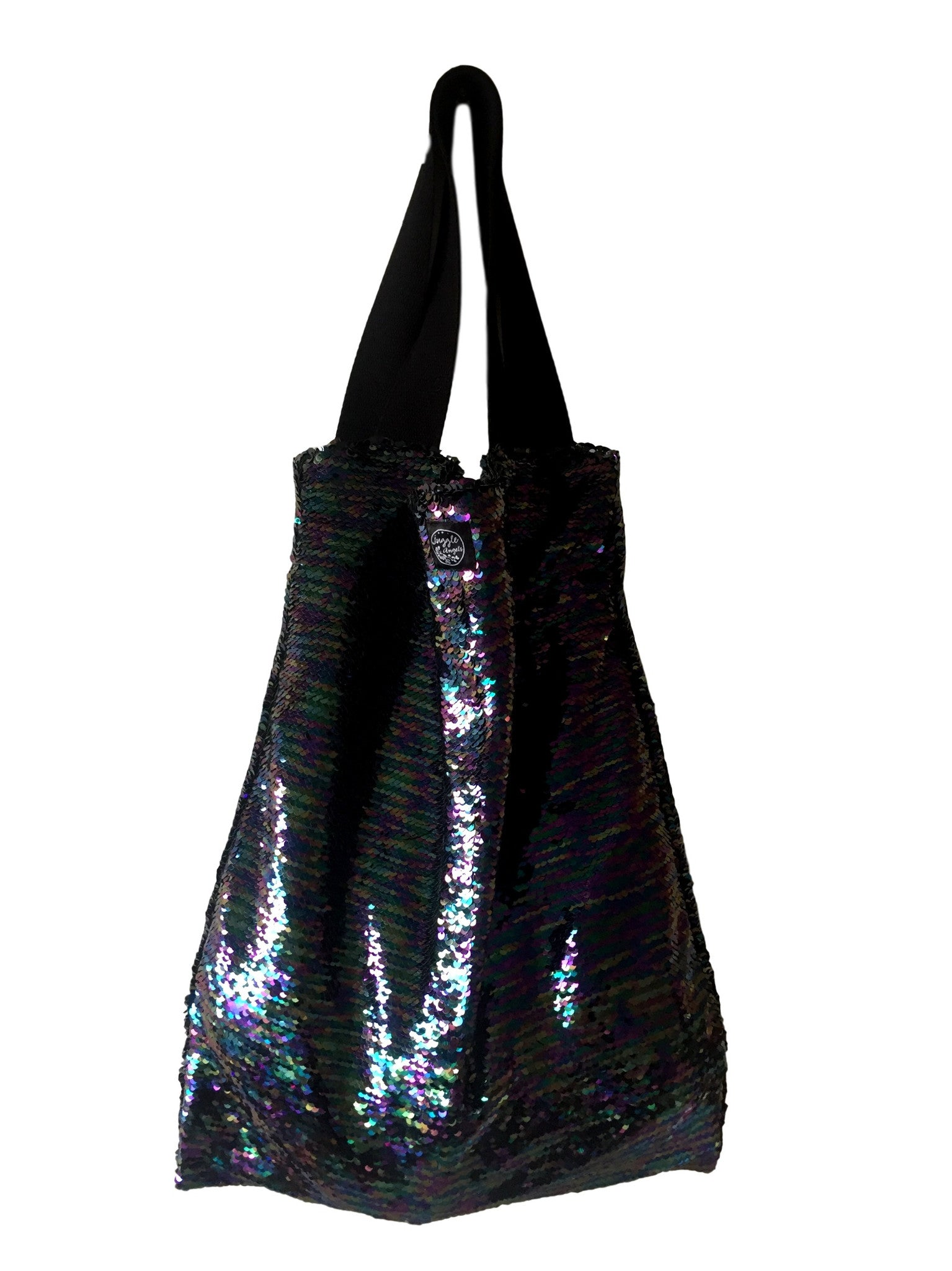 Black Circus Square Bag