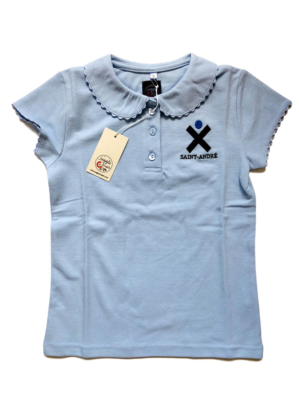 Girl polo short sleeves