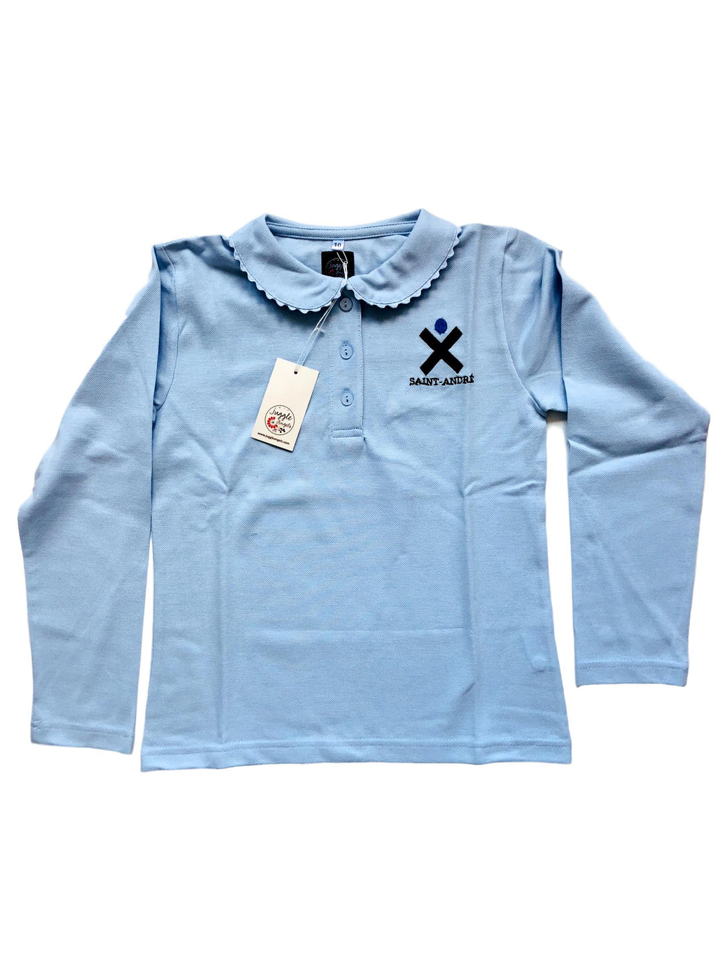 Girl polo long sleeves