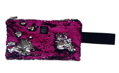 Fuchsia Clutch Bag