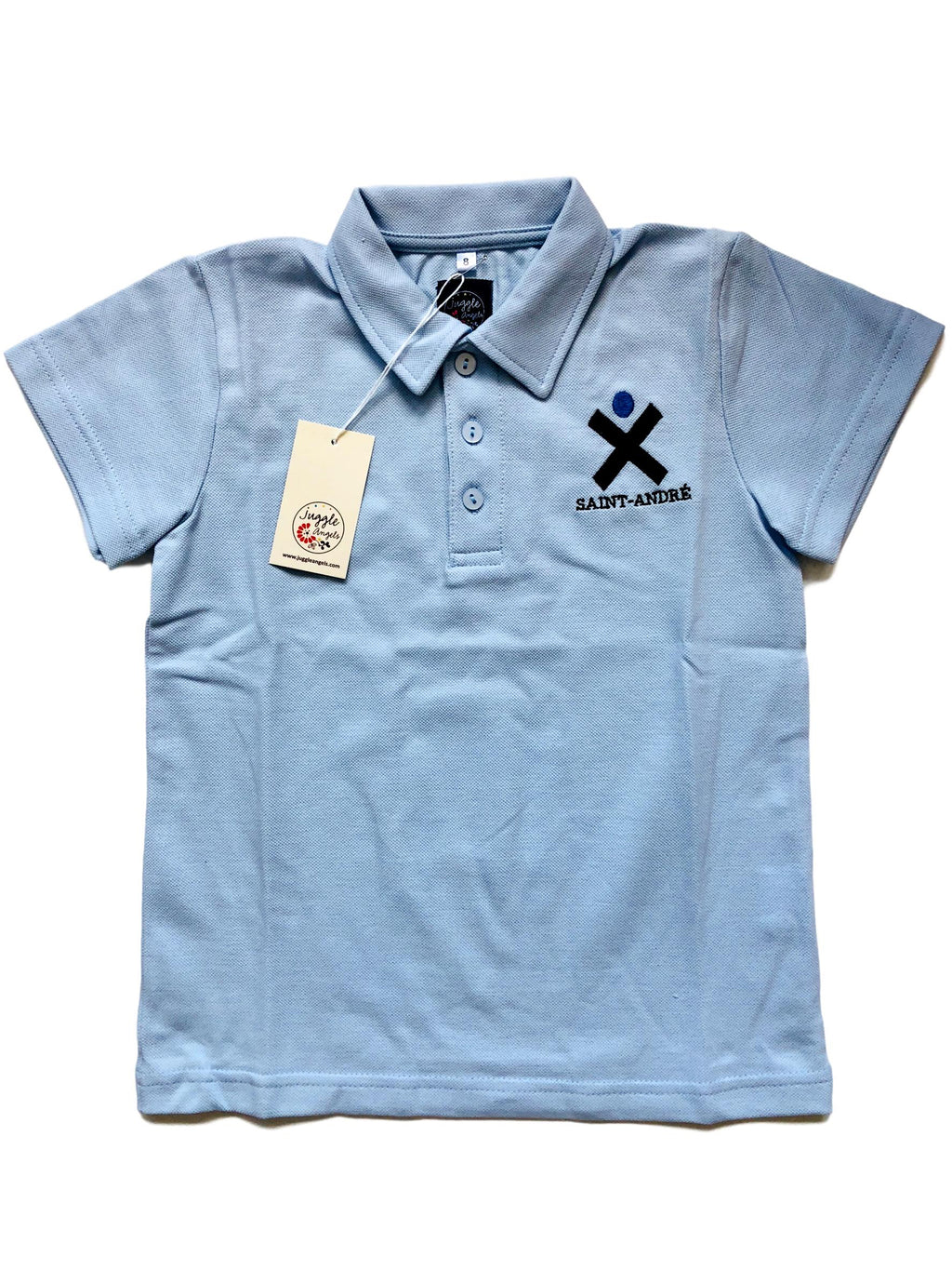 Boy polo short sleeves