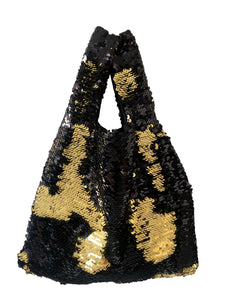 Black & Gold Mini Tote