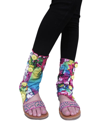 Mosaic Summer Leg Warmers