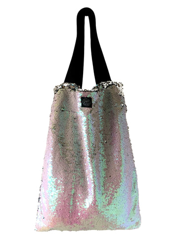 Pearl sequins Square Bag