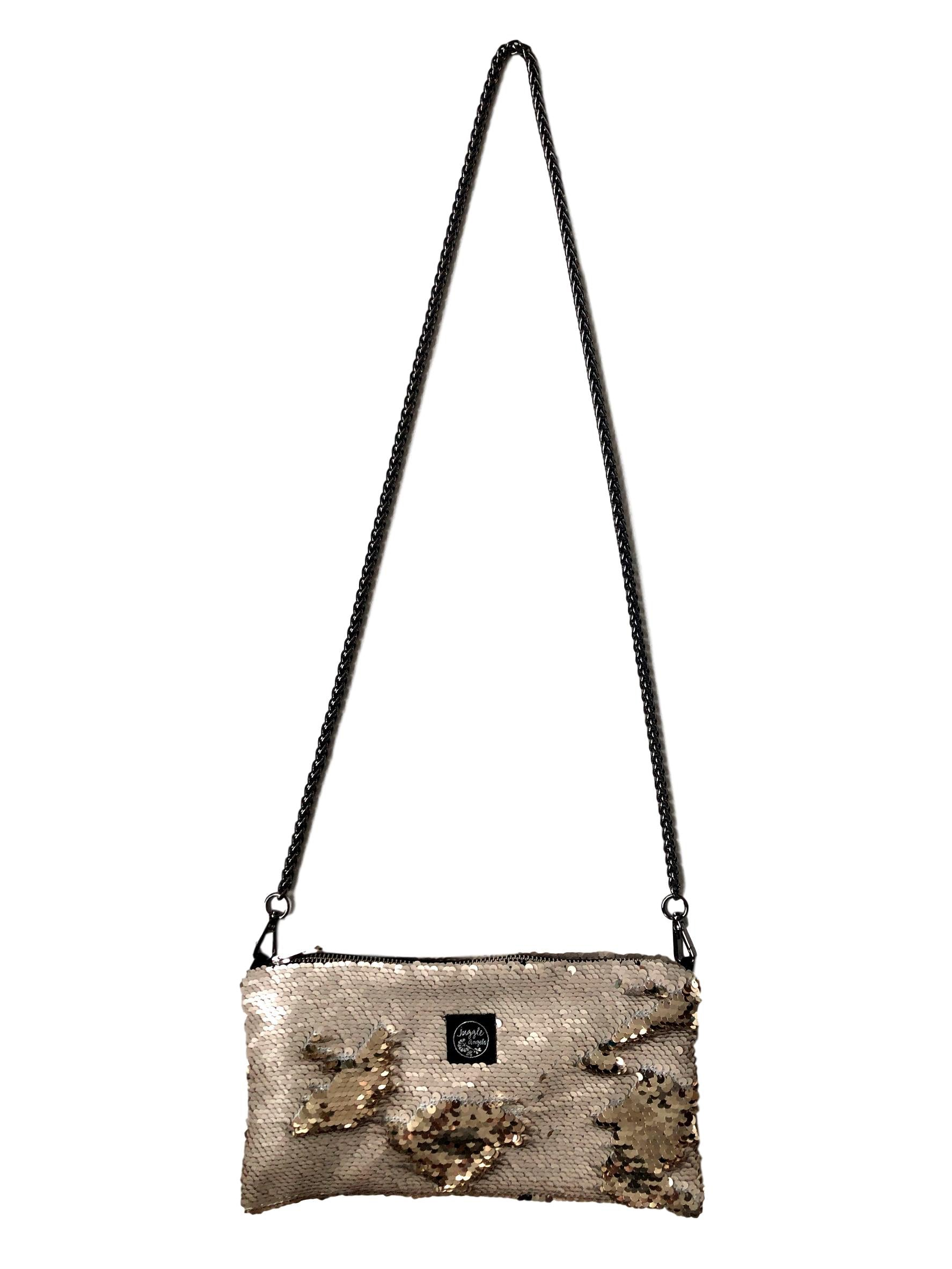 Beige Gold Night Bag