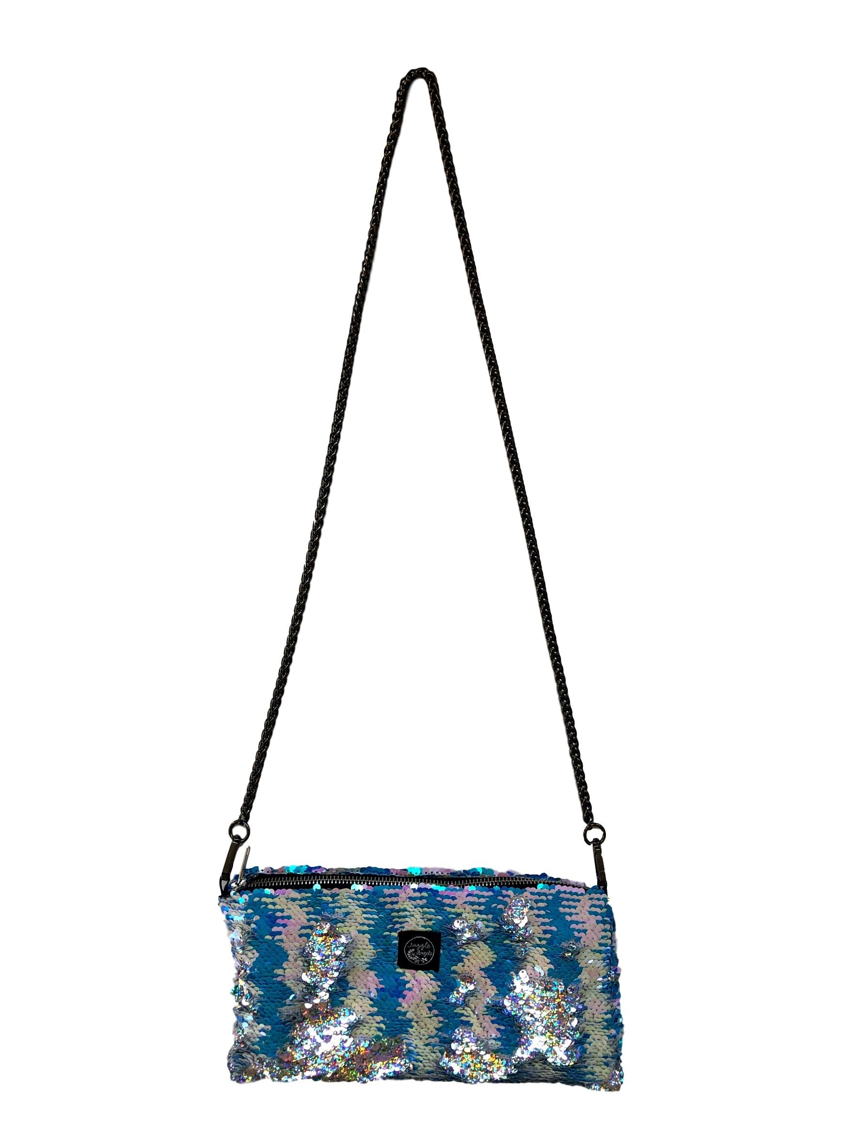 Blue Mermaid Night Bag