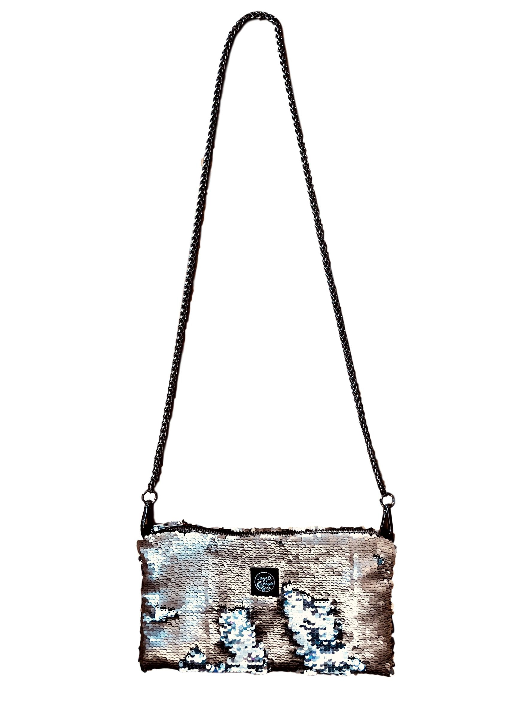 Gold & Silver Night Bag