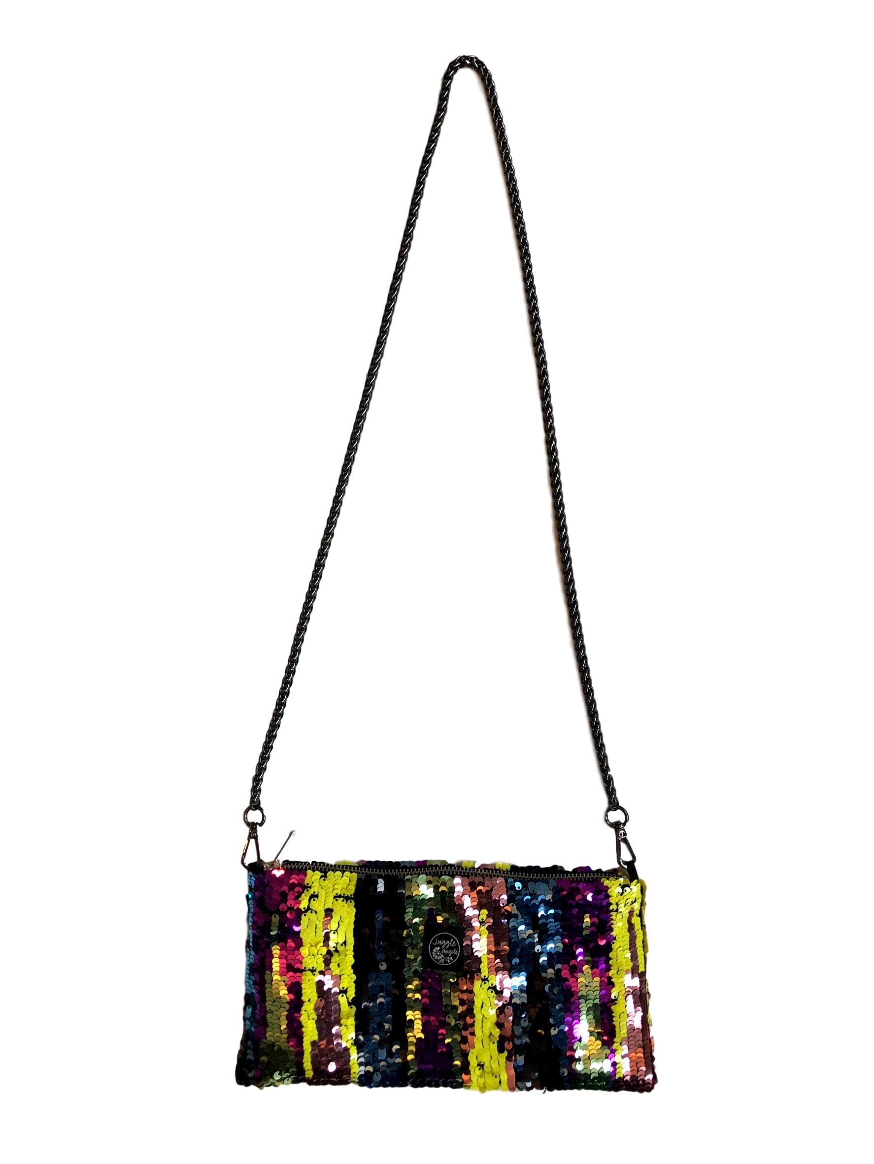 Yellow Ikat Night Bag