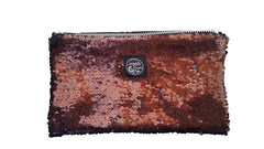 Brown Sequins Pocket