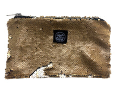 Gold Sequins Pocket