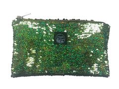 Green Sequins Pocket