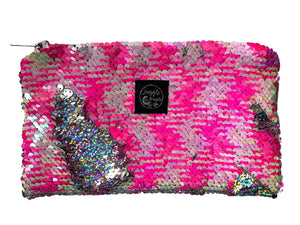 Pink fluo Mermaid Pocket