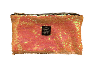 Pink Sequins Pocket