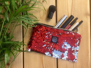 Red Sequins Pocket