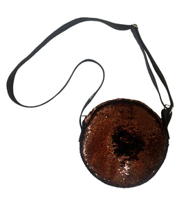 Brown Round Bag