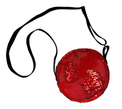 Red Vernis Round Bag