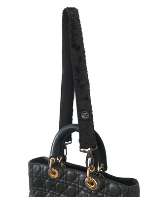 Black Sequins handbag Strap