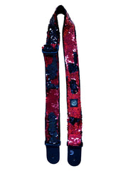 Red Black Guitar Strap