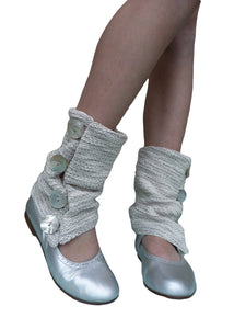 Silver Sweat Summer Leg Warmers