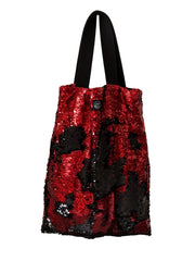 Red & Black Square Bag
