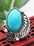 Vintage natural turquoise ring
