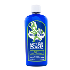 all natural talc free foot and body powder